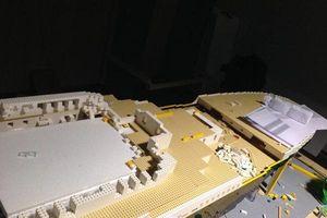 Cậu bé tự kỷ lắp mô hình tàu Titanic từ 56.000 miếng lego