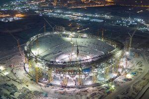 Đại Dũng tham gia làm sân vận động Lusail phục vụ World Cup 2022