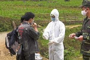 Đồn Biên phòng Si Ma Cai bắt giữ nhiều đối tượng nhập cảnh trái phép