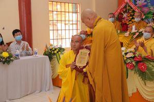 Bà Rịa - Vũng Tàu : Bổ nhiệm trụ trì chùa Chánh Thiên