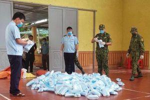 Lạng Sơn: Bắt giữ 22.000 khẩu trang nhập lậu