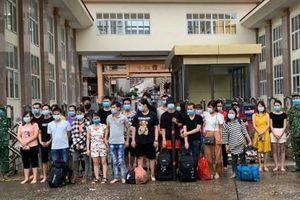 Liên tiếp bắt giữ nhiều nhóm người nhập cảnh trái phép qua biên giới