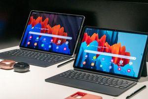 Samsung ra mắt Galaxy Tab S7 và Tab S7+: Màn hình 'siêu to khổng lồ' 120Hz, camera kép