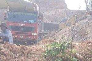 Vĩnh Phúc: Huyện Lập Thạch yêu cầu dừng khai thác khoáng sản trái phép