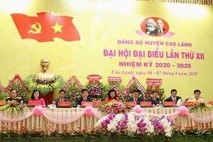 Quyết tâm xây dựng huyện Cao Lãnh đạt và duy trì huyện nông thôn mới