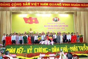Đại hội đại biểu Đảng bộ huyện Cao Lãnh lần thứ XII, nhiệm kỳ 2020 – 2025 thành công tốt đẹp