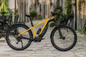Cận cảnh xe đạp Ducati e-Scrambler giá bán lên tới trăm triệu đồng