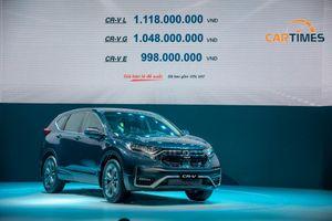 Honda CR-V 2020 nâng cấp vừa ra mắt đã nhận ưu đãi khủng lên tới 160 triệu đồng