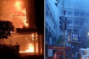 Cháy cơ sở điều trị COVID-19 ở Ấn Độ, ít nhất 10 người thiệt mạng