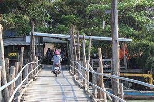 Nỗi lo cầu gỗ trong thành phố