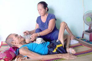 Bán phương tiện mưu sinh để nuôi chồng bệnh nặng