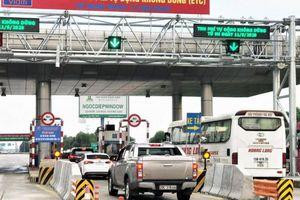 Ngày mai, cao tốc Hà Nội - Hải Phòng chính thức thu phí không dừng