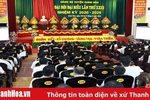 Đại hội đại biểu Đảng bộ huyện Quan Hóa lần thứ XXIII: 'Đoàn kết - Kỷ cương - Sáng tạo - Phát triển'