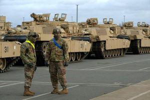 Mỹ bất ngờ điều quân 'về' Đông Âu nhằm răn đe Nga