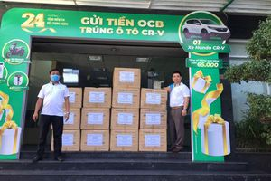 OCB ủng hộ thiết bị y tế cho tỉnh Quảng Nam