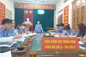 VKSND tỉnh Sơn La kiểm tra, thanh tra nghiệp vụ tại VKSND thành phố Sơn La