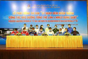 BSR thi đua '51 ngày đêm hoàn thành công tác bảo dưỡng tổng thể lần 4 nhà máy Lọc dầu Dung Quất'