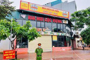 Thông tin chi tiết ca bệnh dương tính với SARS-CoV-2 tại huyện Thanh Trì
