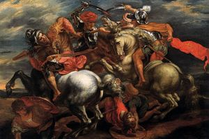 Kiệt tác 'Trận chiến Anghiari' của da Vinci được đặt hàng như nào?