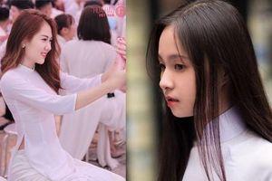Sắc vóc mơn mởn của dàn thí sinh Hoa hậu Việt Nam 2020 với áo dài