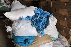 2,1 triệu găng tay y tế tái chế chuẩn bị xuất bán ra thị trường
