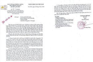 Quảng Ninh: Huyện Vân Đồn ra văn bản hỏa tốc khoanh vùng, truy vết đối với những người tiếp xúc bệnh nhân 950
