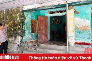 Cần nhanh chóng di dời, tái định cư cho người dân phố Tây Nam, phường Quảng Vinh