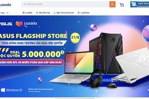 ASUS Việt Nam mở 'cửa hàng' trên Lazada