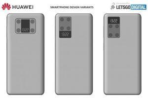 Huawei đang phát triển smartphone có màn hình nhỏ ở mặt lưng