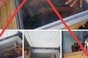 Bị triệu tập vì đăng thông tin sai bạn cùng xóm bị sát hại giấu xác trong tủ lạnh
