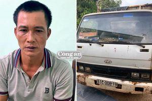 24 giờ truy bắt đối tượng lái xe tải đi trộm bò