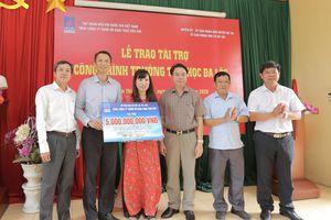 PVEP trao hỗ trợ xây dựng trường Tiểu học tại Hưng Yên