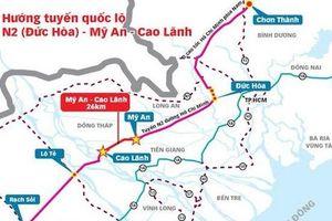 Xây dựng tuyến Mỹ An - Cao Lãnh từ vốn vay ODA Hàn Quốc
