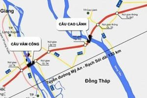 Phê duyệt Dự án Đầu tư xây dựng tuyến Mỹ An - Cao Lãnh sử dụng vốn vay ODA Hàn Quốc