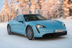 Porsche Taycan 2021 tăng tốc nhanh hơn, bổ sung công nghệ