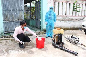 Khẩn trương diệt lăng quăng, phun hóa chất diệt muỗi phòng bệnh CHIKV