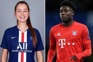 Bạn gái Alphonso Davies cũng có cơ hội vô địch Champions League