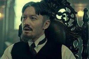 Huỳnh Hiểu Minh để tóc hai mái trong phim mới