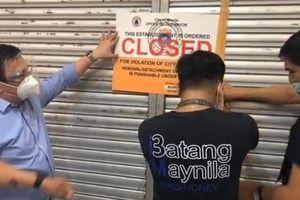 Hai người Trung Quốc gặp họa vì dám ghi 'tỉnh Manila của Trung Quốc'