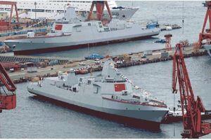 Trung Quốc có thể sắp hạ thủy thêm khu trục hạm tên lửa Type 055