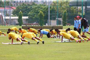 U22 Việt Nam tập luyện dưới sự chỉ đạo sát sao của huấn luyện viên Park Hang-seo
