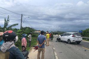 Quảng Ngãi: Va chạm giữa ô tô và xe máy, một người tử vong.