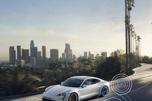 Ra mắt phiên bản nâng cấp mẫu xe điện siêu sang Porsche Taycan