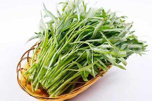 Ăn rau muống mang lại nhiều lợi ích quý giá cho sức khỏe, điều thứ 3 ai cũng thích