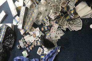 Khởi tố 25 đối tượng trong sòng bạc 'khủng' ở căn hộ chung cư tại Sài Gòn