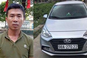 Bắc Giang: Bắt tài xế taxi dù đâm trọng thương cán bộ cảnh sát giao thông