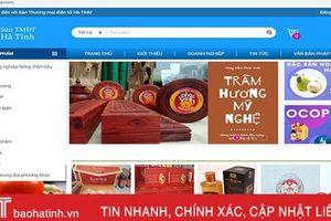 35 doanh nghiệp tham gia sàn thương mại điện tử Hà Tĩnh
