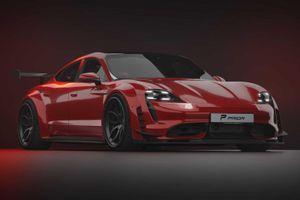 Hình ảnh Porsche Taycan được độ cực chất