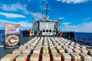 Hải quân Colombia đột kích, thu giữ gần 2,5 tấn cocaine