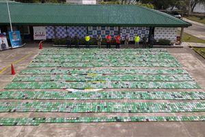 Colombia thu giữ hơn 2,4 tấn cocaine